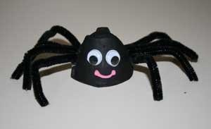 Des petites araign es - Faire une araignee pour halloween ...