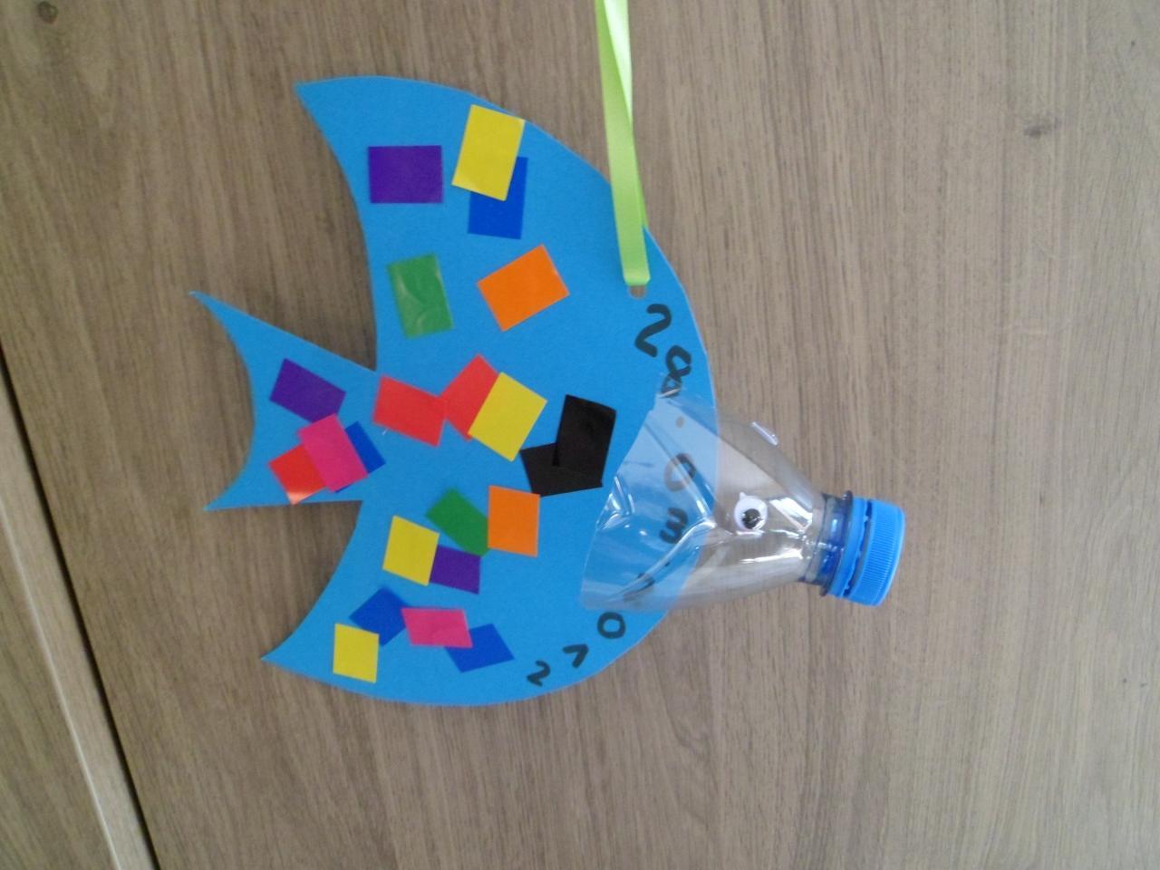 Autour du 1er avril les poissons abcd - Bricolage avec du plastique ...